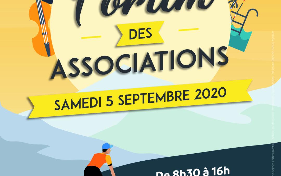 Forum des associations, le 5 septembre à la Halle des sports