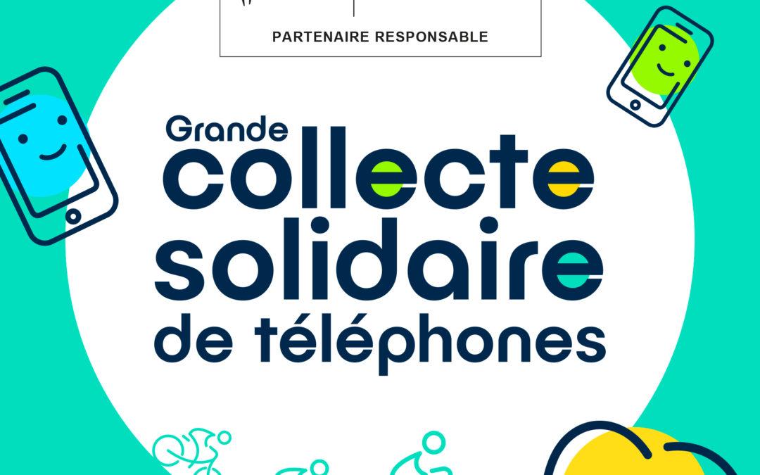 Collecte de téléphones usagés